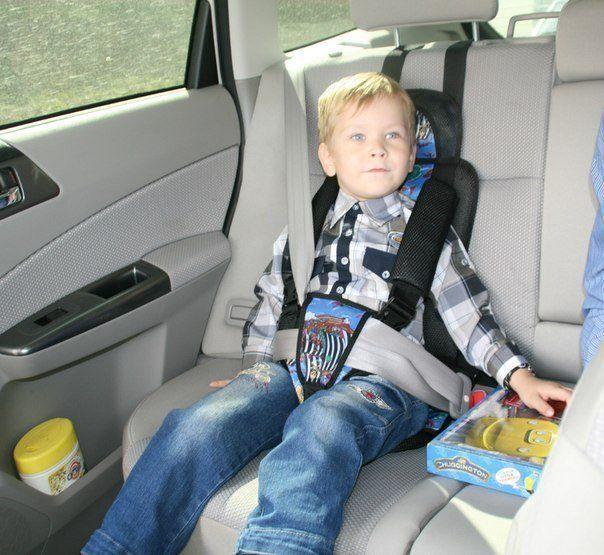 Какие детские кресла разрешается на автомобиль поняла