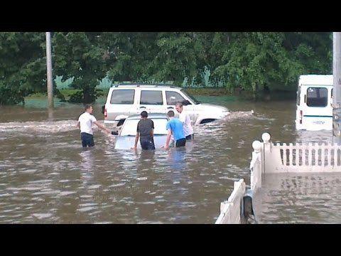 Потоп в Челябинске 26 06 2015